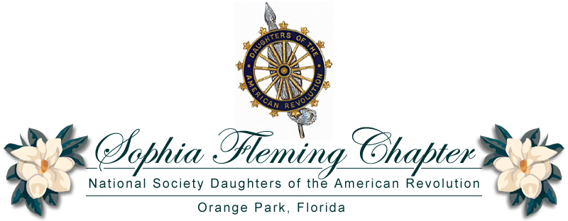 The Sophia Fleming Chapter  • Orange Park, Florida